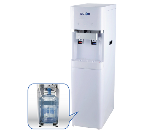 Cây nước nóng lạnh bình đặt dưới Karofi HC300
