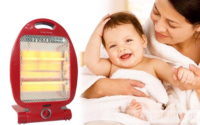 """Những lưu ý """"QUAN TRỌNG""""khi mua máy sưởi cho trẻ sơ sinh"""