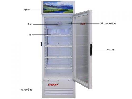 tủ mát Sanaky 400l