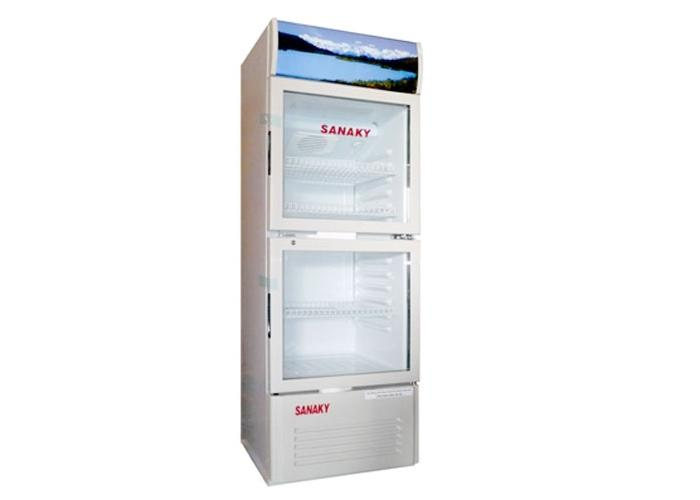 Đánh giá tính năng và đặc điểm của model tủ mát Sanaky 400l VH-408K